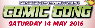 Banner for Comic Gong 2016