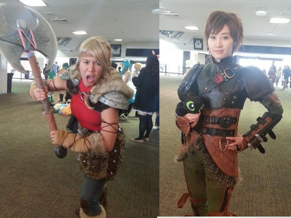 SMASH! cosplay - Astrid & Hiccup