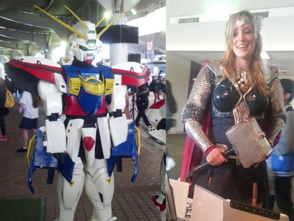 SMASH! cosplay - Gundam & Lady Thor