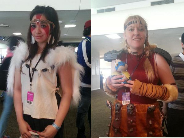 SMASH! cosplay - Princess Mononoke & Astrid from Dragons